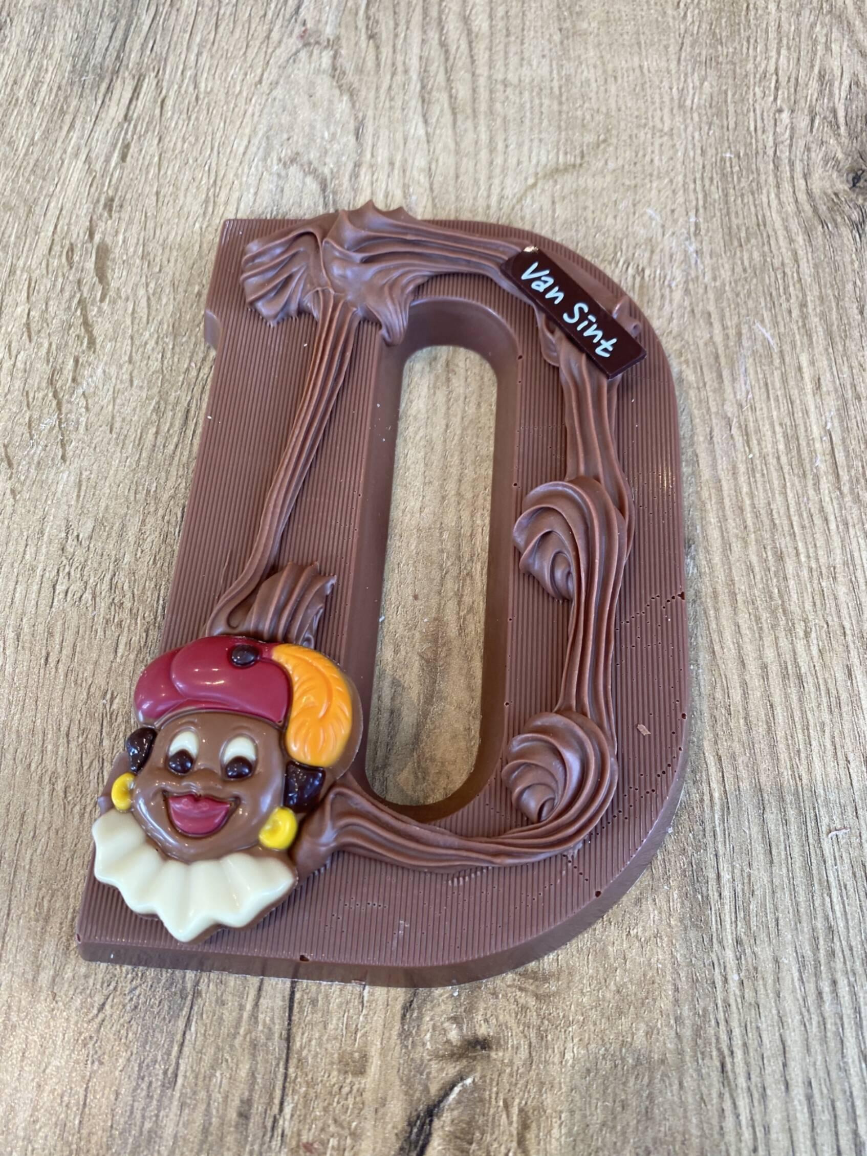 Chocoladeletter D
