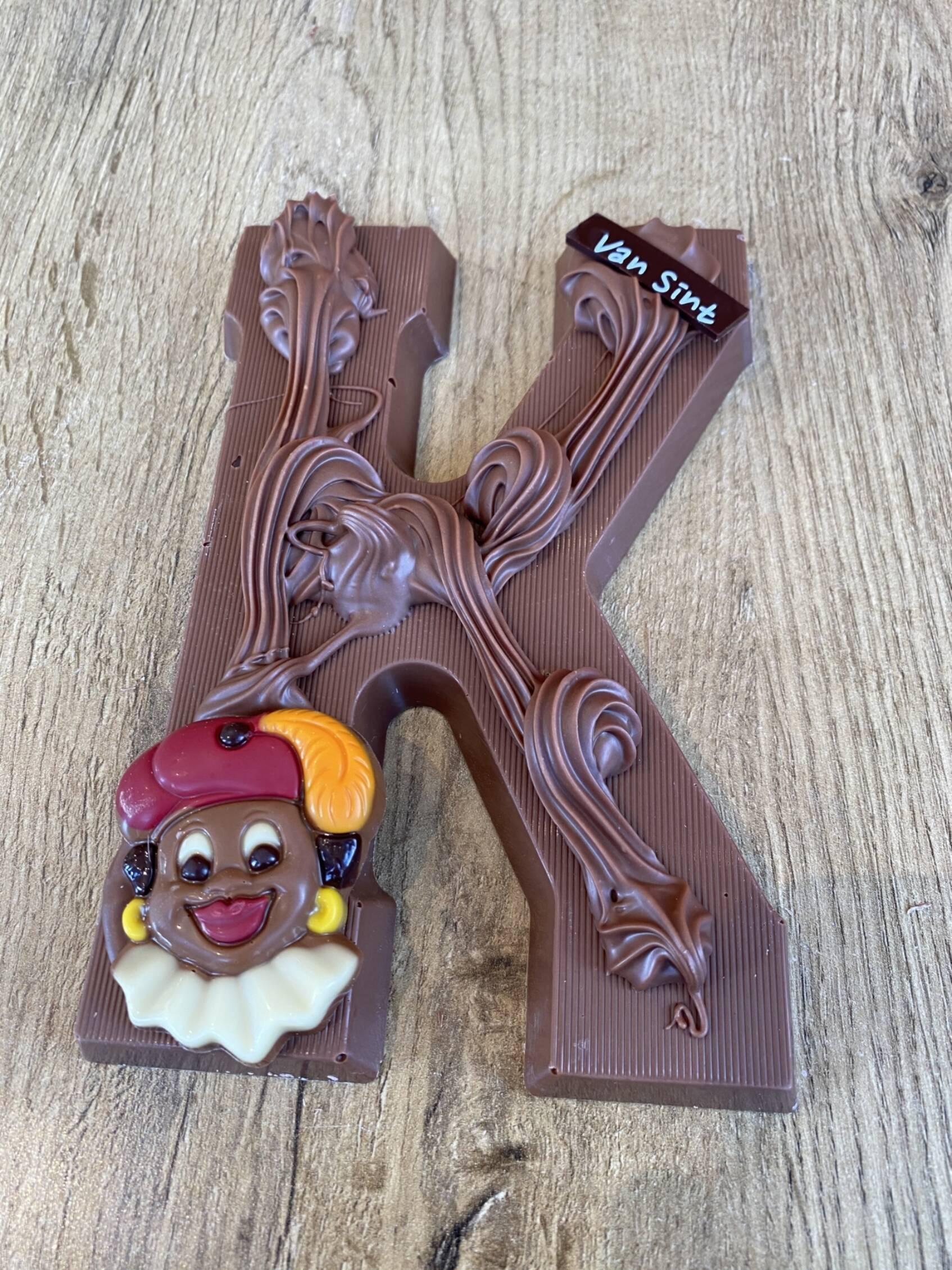 Chocoladeletter K