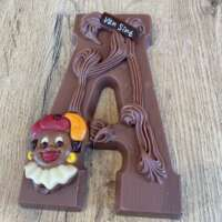 Chocoladeletter A