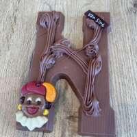 Chocoladeletter N