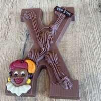 Chocoladeletter X