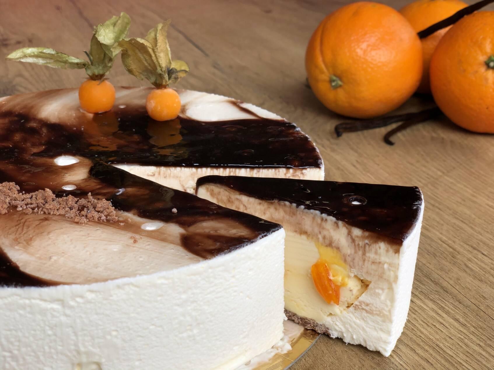 IJstaart d'Arancio- & vanille ijs