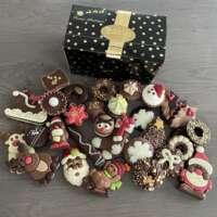 470 gram kerstchocolade: Gevuld & ongevuld