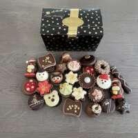 470 gram luxe gevulde kerstbonbons