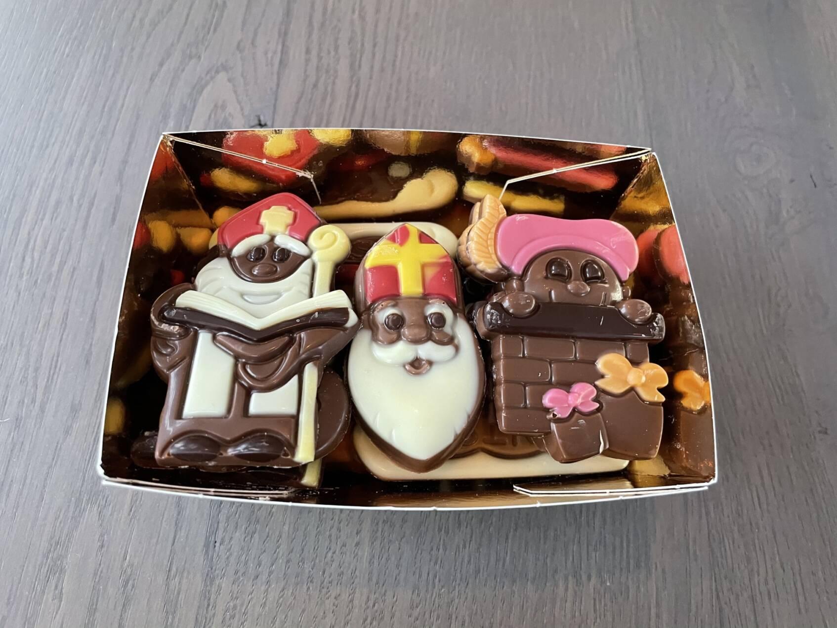 Goudbakje luxe sinterklaaschocolade