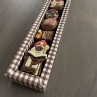 Luxe staaf gevuld met Sinterklaas chocolade